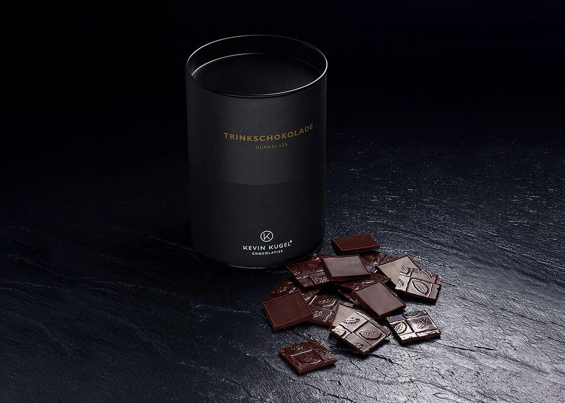 Trinkschokolade Dunkel 63%